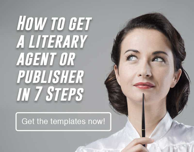 How to get a literary agent or publisher mobile banner for downloading resources